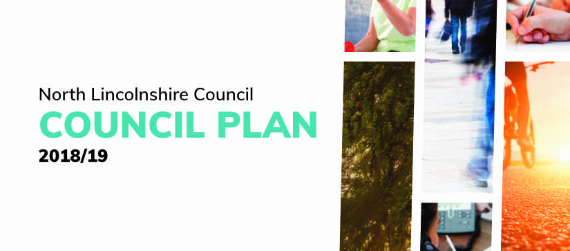 North Lincolnshire COuncil Plan Front Cover