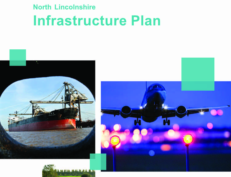 North Lincolnshire Infrastructure Plan Front Cover