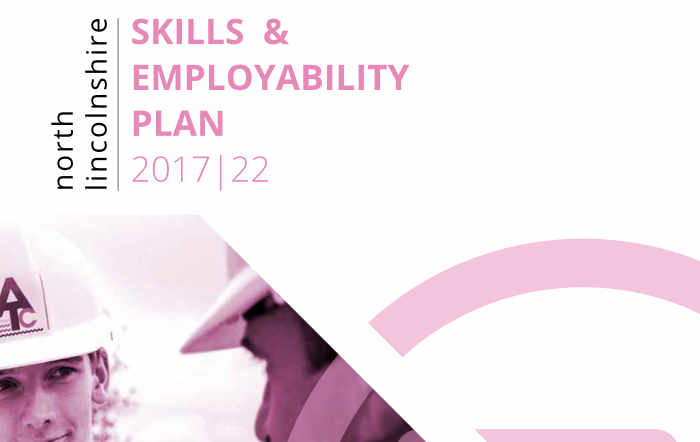 North Lincolnshire Skills and Employability Plan Front Cover